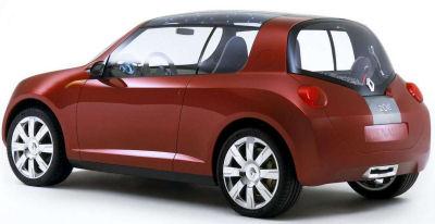 Présentation du concept car Renault Zoe concept.